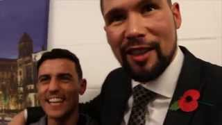 TONY BELLEW, LEIGHTON BAINES & ANTHONY CROLLA TALK TO KUGAN CASSIUS / WHOS