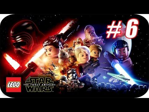 LEGO Star Wars El Despertar de la Fuerza - Gameplay Español - Capitulo 6 - El Castillo de Maz