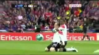 Rooney goal in Barcelona  2011 Thumbnail