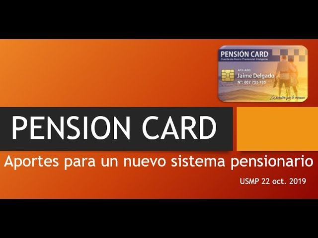 PENSION CARD