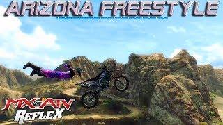 MX vs. ATV Reflex Arizona Freeride Freestyle Lines | MX vs ATV Reflex Free Ride Maps