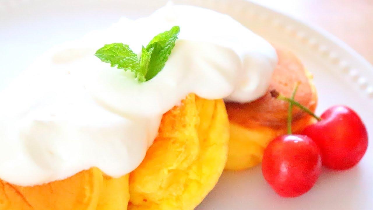 幸せ の パン ケーキ 作り方 簡単 ホット ケーキ ミックス