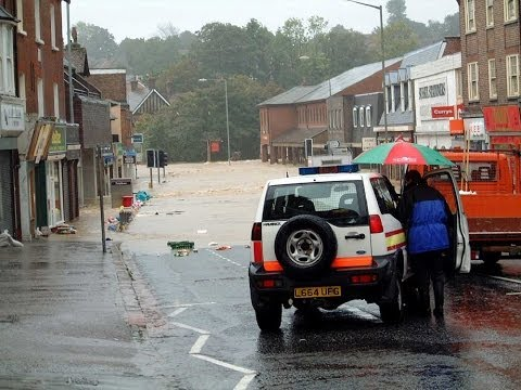 Newsreels of Uckfield & Lewes Floods in 2000