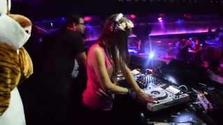 DJ Oriska en soirée Au Loft Métropolis 28/11/2014. Dj oriska welcom...