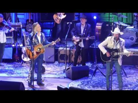 George Strait with Jim Lauderdale and Buddy Miller