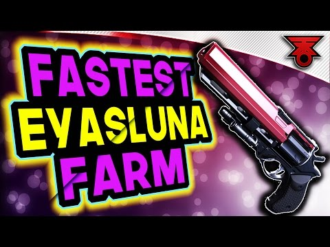 Destiny | ABSOLUTE BEST FARM FOR GOD ROLL WEAPONS IN THE CRUCIBLE!!! Eyasluna + Matador 64 + MORE!