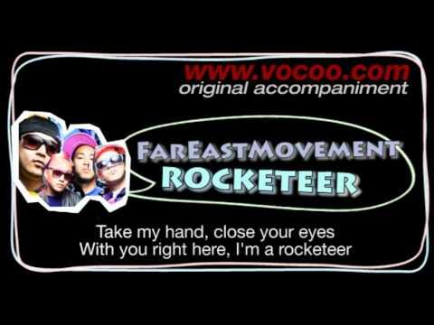 Far East Movement  - Rocketeer (Karaoke/original accompaniment / Instrumental / lyrics)