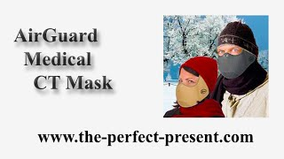 AirGuard Medical CT Mask | Cold Air Winter Face Mask