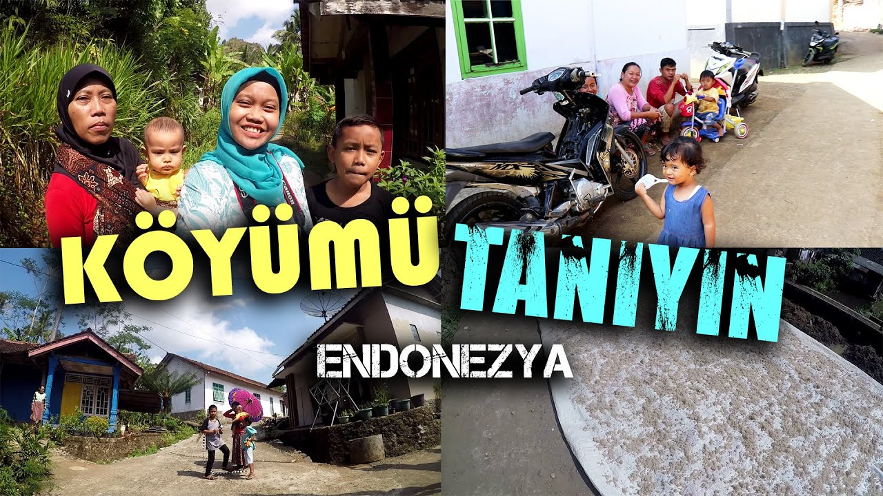ENDONEZYA'DAKİ KÖYÜM!!! ANNEMLE DETAYLI KÖY TURUMUZ!!!