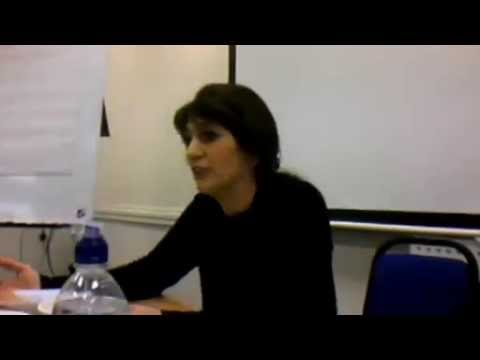 Yassamine Mather and Torab Saleth: Hands Off the People of Iran Dayschool in January 2014