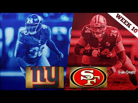 San Francisco 49ers VS New York Giants Week 10 NFL 2017 Postgame Gathering