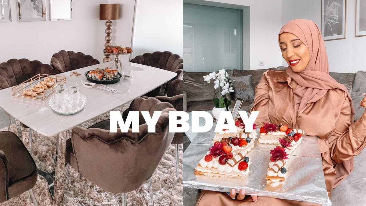 MY BIRTHDAY AND LOTS OF FOOD + UNBOXING