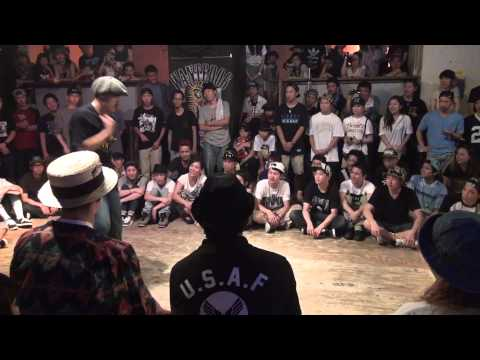 GROOVE LINE 大阪予選 2014/7/13 【LOCK FINAL】SHOTA VS HI-SAE
