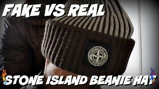 How to Spot a STONE ISLAND BEANIE HAT | Fake VS Real |