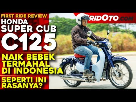 Bebek Termahal di Indonesia! Honda Super Cub C125 l First Ride Review l GridOto