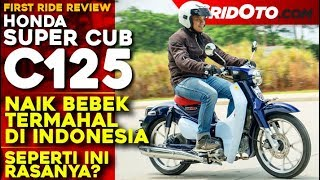 Bebek Termahal di Indonesia! Honda Super Cub C125 l First Ride Review l GridOto