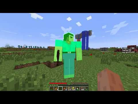 NOOB VS 1000 ZOMBIE NOOB PROTEGE A SU MADRE MINECRAFT TROLL + ROLEPLAY