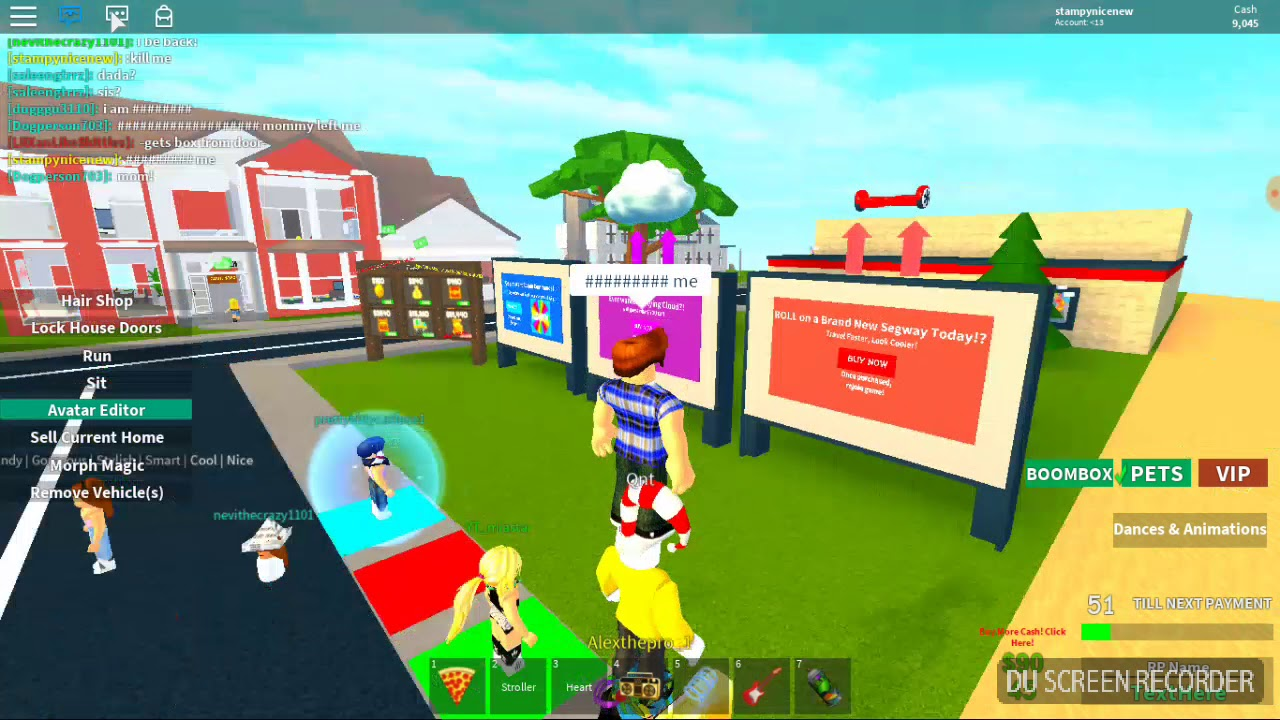 Admin Commands In Adopt And Raise A Cute Kid Youtube