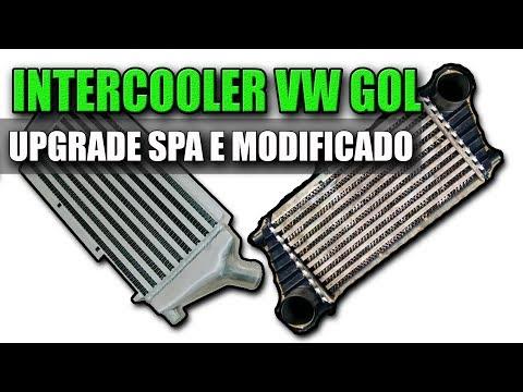 INTERCOOLER SPA UPGRADE E MODIFICADO PARA VW GOL E PARATI 1.0 16V TURBO (Volkswagen)