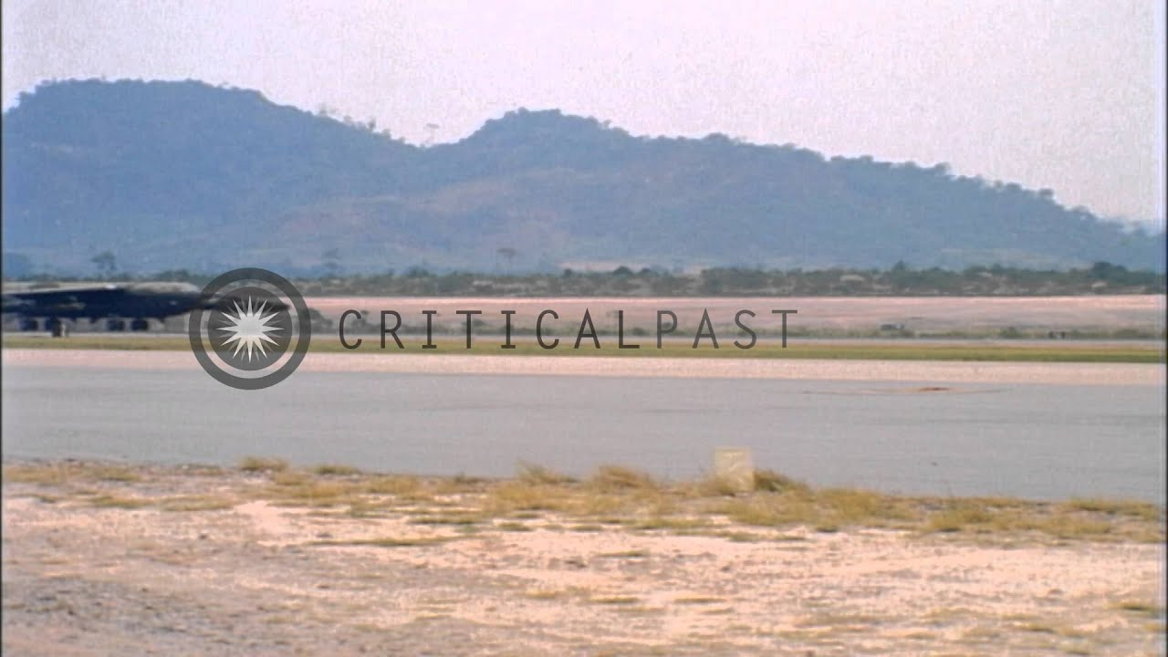 Utapao Afb Thailand Map.A B 52 Taxiing For Take Off On The Runway At U Tapao Royal Thai Navy