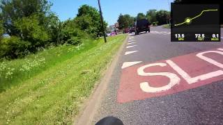 Cycling in Windsor Royal Berkshire with embedded stats from Storyteller 3.4.2