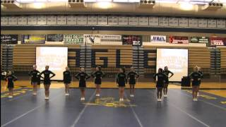 Division 1 Region 1 MHSAA Competitive Cheer Regional Competiton at Hartland High School February 22
