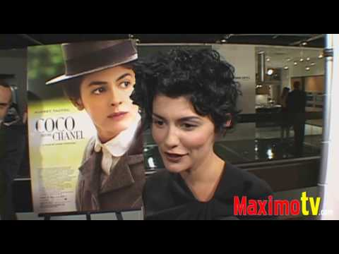 """COCO BEFORE CHANEL"" Premiere Arrivals Audrey Tautou"