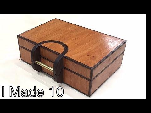 10 Amazing Wooden Keepsake Boxes - Production Mindset Build