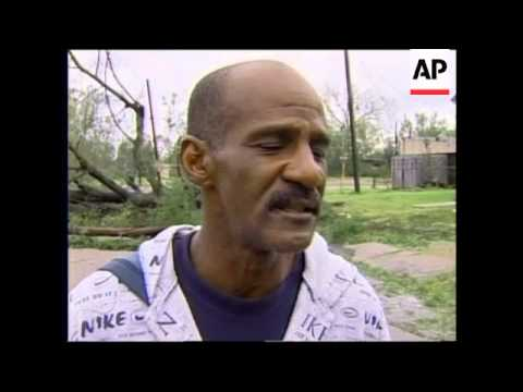 WRAP Hurricane Rita pummels east Texas, devastation, relief