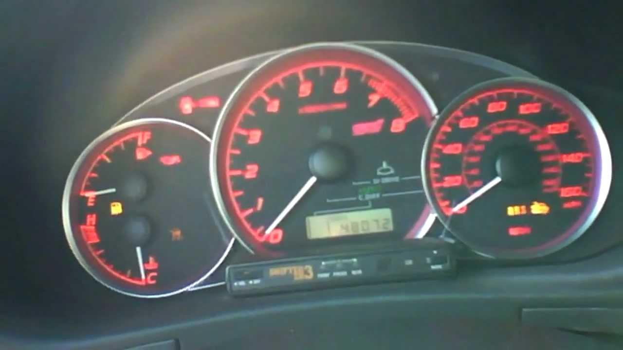 2008 Subaru Impreza Wrx Sti Hatchback Start Up Quick Tour
