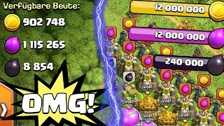 10 MIO LOOT PRO STUNDE! YEEEEES! ☆ Clash of Clans ☆ CoC