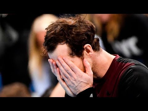 video: Andy Murray breaks down in tears after winning first singles title on comeback trail