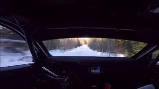 Kalle Rovanperä | Skoda R5 | Winter Test | Helmet Cam