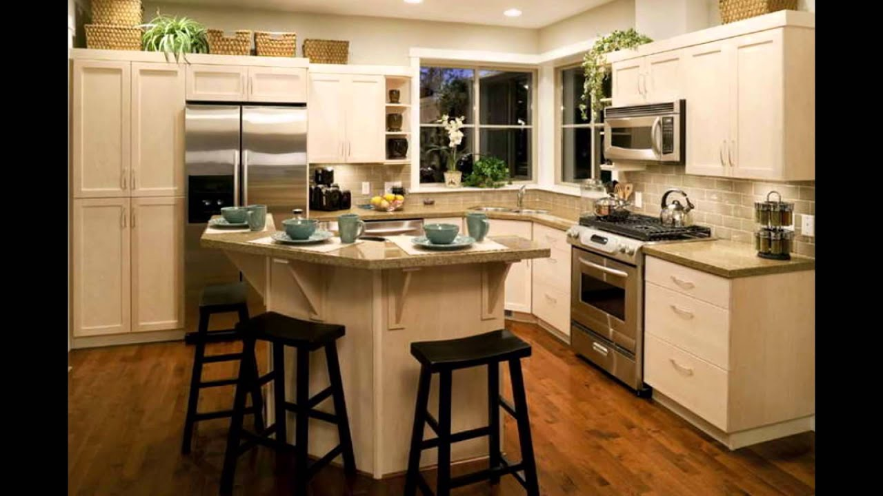 remodel kitchen on a budget lowes - YouTube