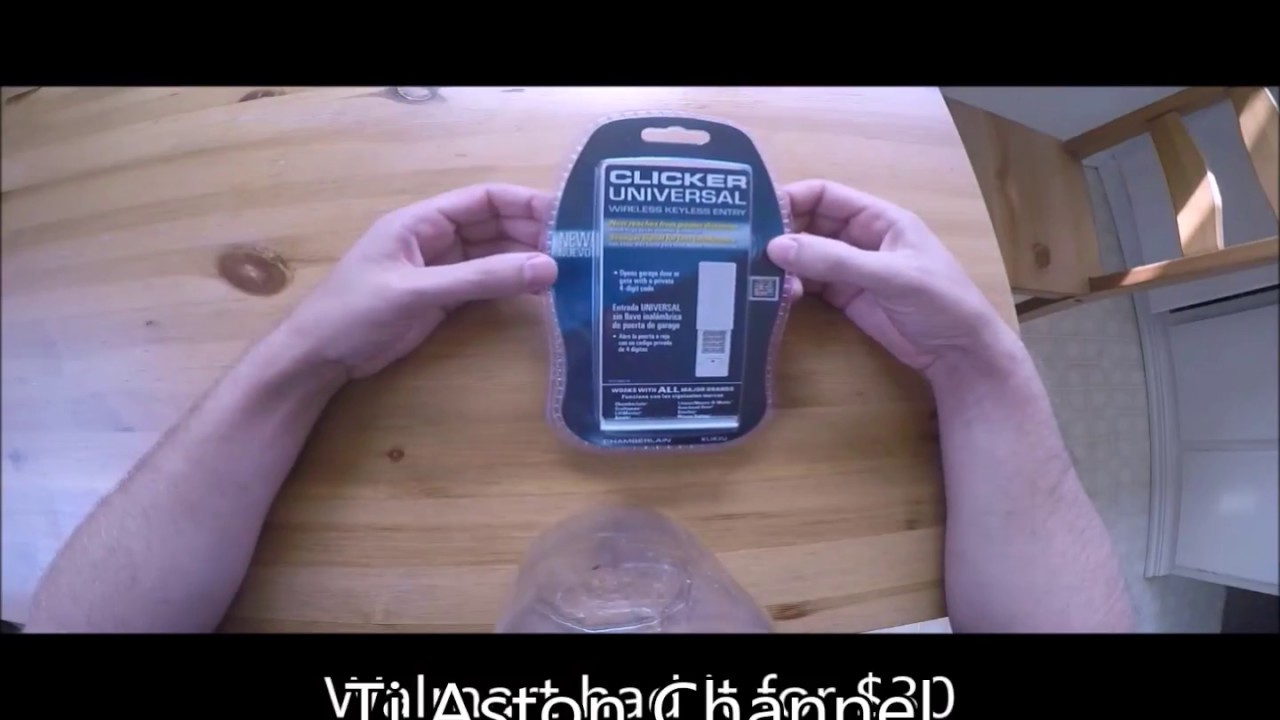 program a to w watch youtube opener garage door learn button remote clicker how