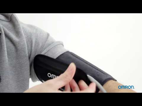 Omron ComFit EasyWrap Cuff Instructions