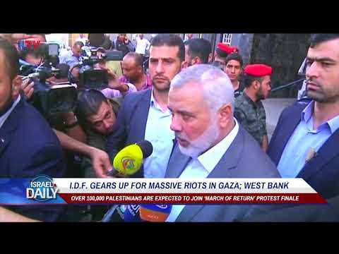 Your Morning News From Israel - May. 14, 2018.