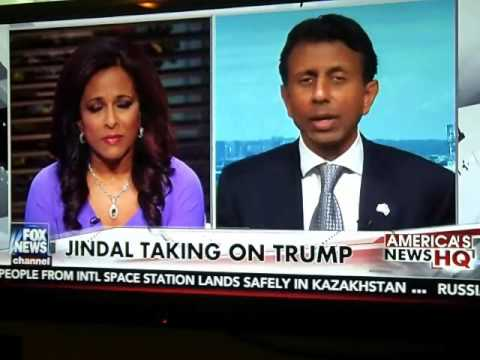 BOBBY JINDAL SELF-DESTRUCTS BECAUSE TRUMP