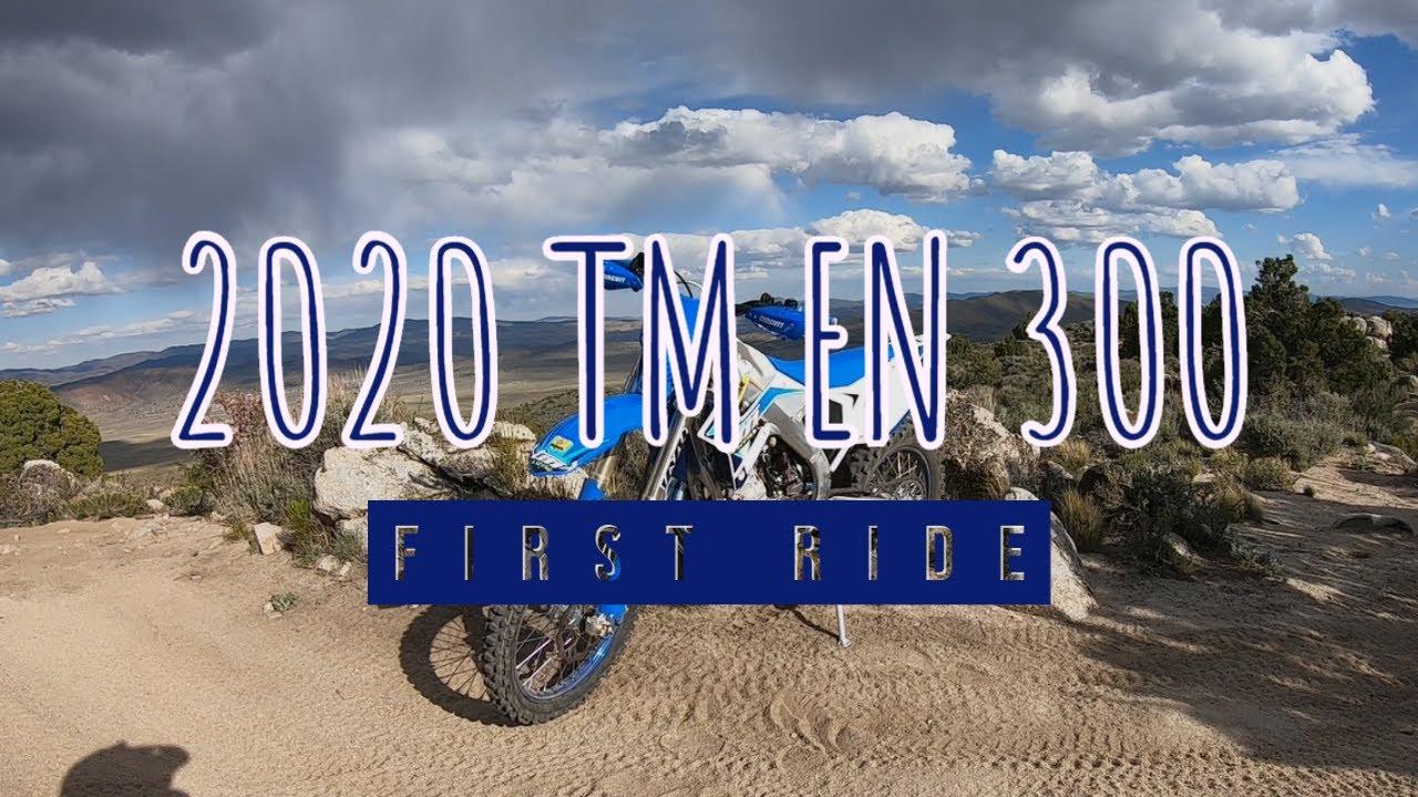 2020 TM EN 300 First Ride!