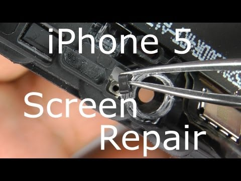 IPhone 5 Screen Replacement & Home Button Repair - Touch Screen Digitizer & LCD