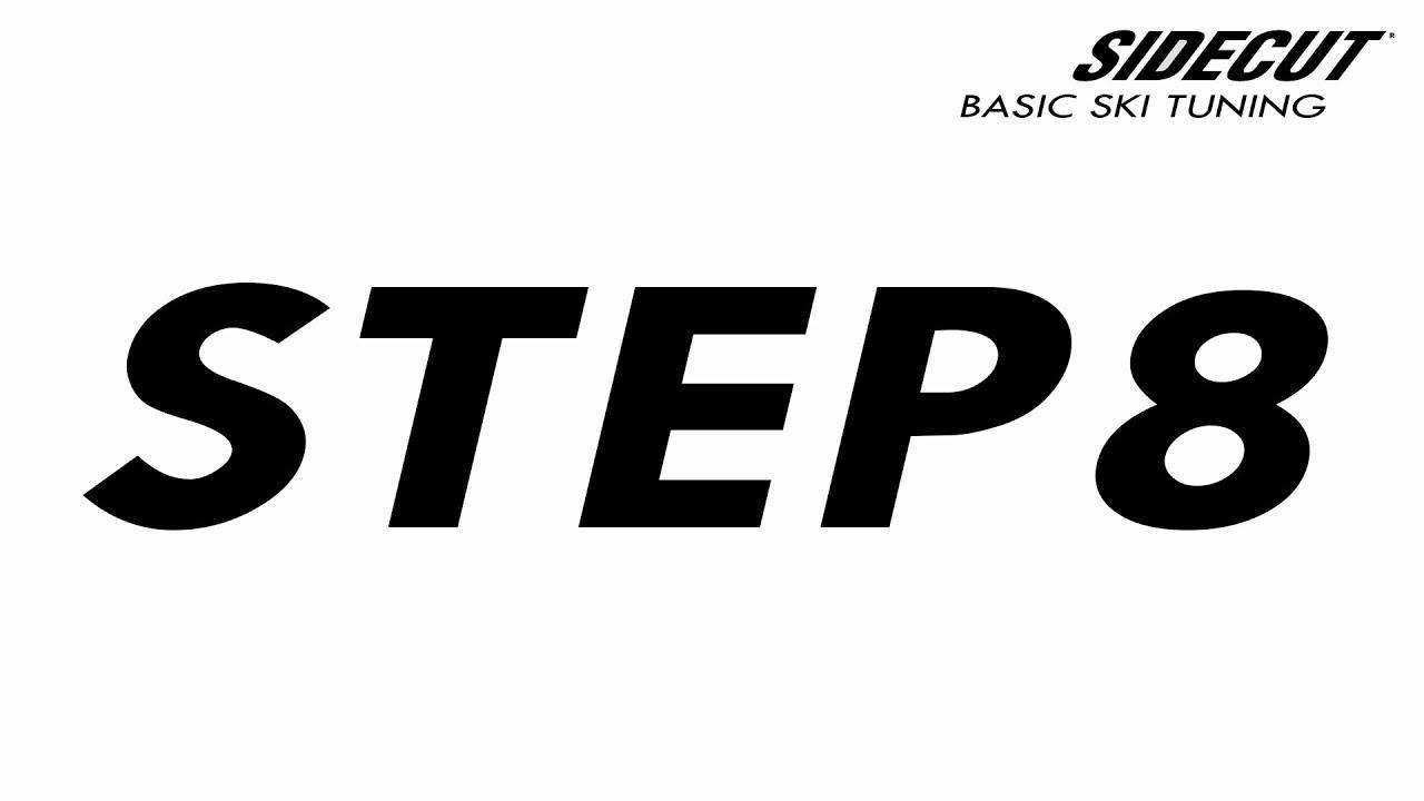 08 Ski Tuning Basic - step 8 Waxing, Scraping & Polishing