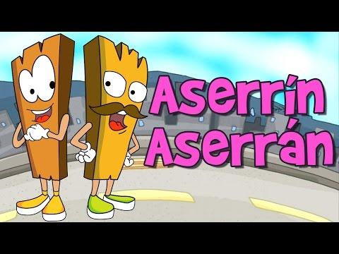 Aserrín aserrán Lyrics - Rosa León
