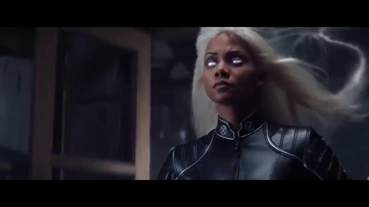 X-Men (2000) - Storm Electrocutes Toad - YouTube