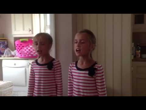 Singing identical twins