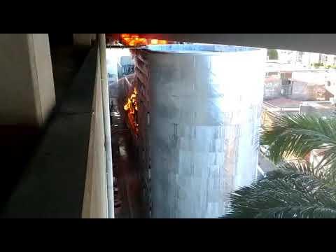 Veja local exato do incêndio no Midway Mall