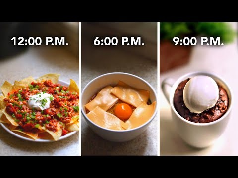 I Made Only Microwave Recipes For A Day • Tasty