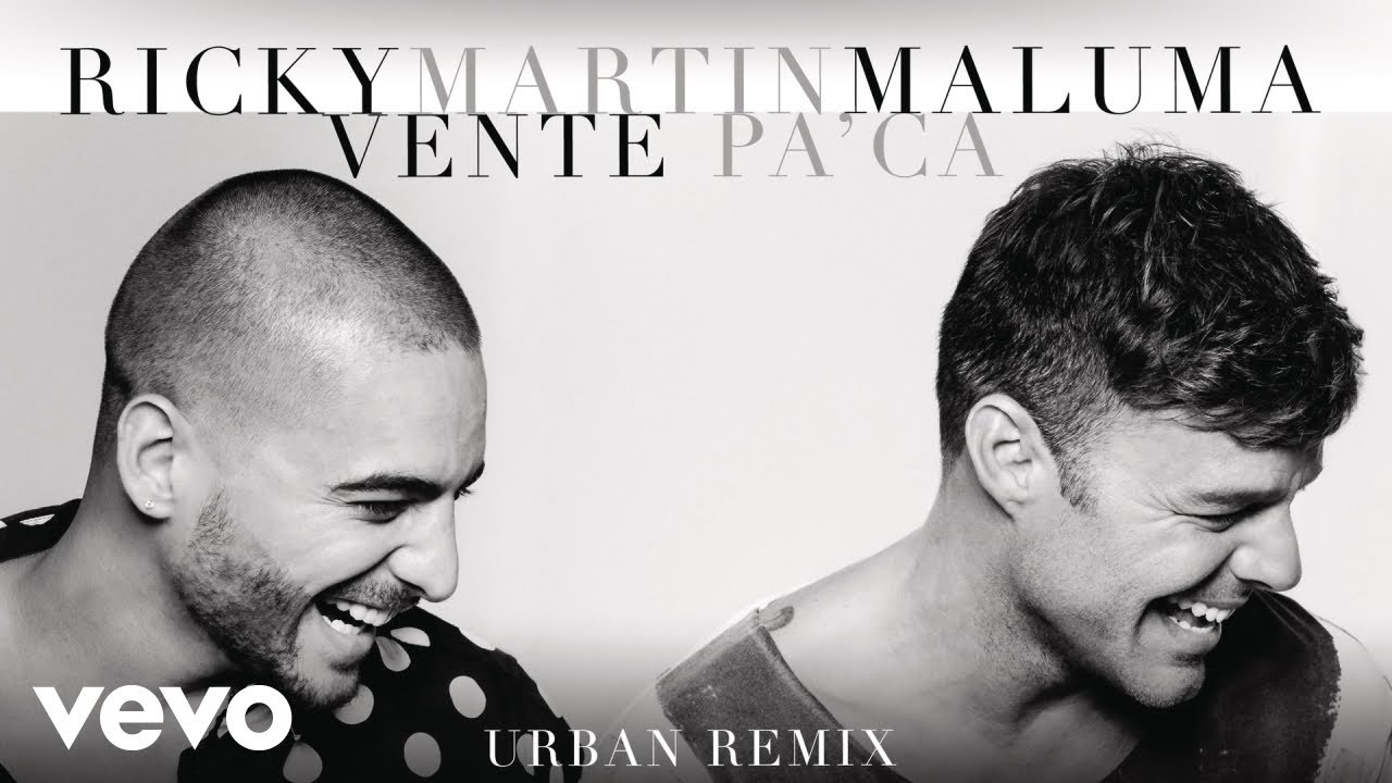 Ricky Martin — Vente Pa / Ca (Urban Remix)[Cover Audio] ft. Maluma