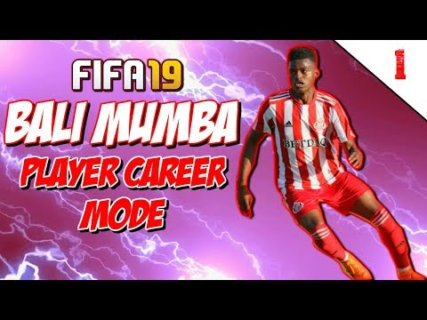 "FIFA 19 BALI MUMBA PLAYER CAREER MODE EP1 | ""THE JOURNEY BEGINS!"""
