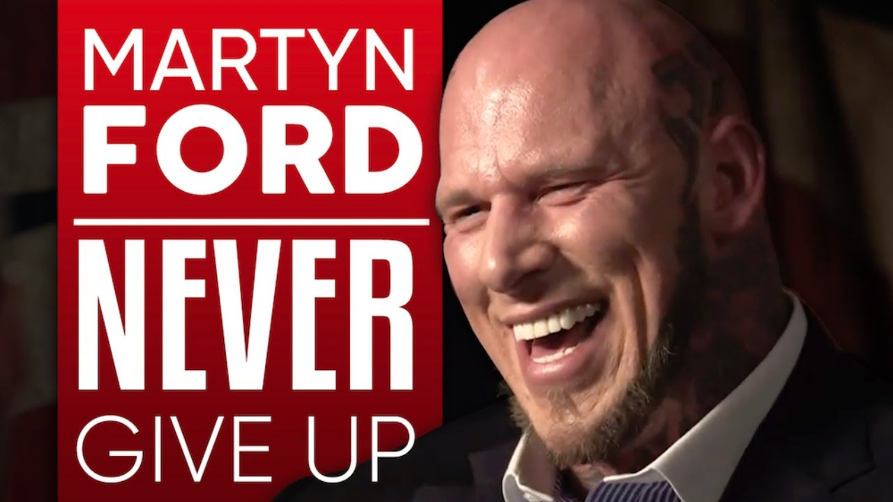 MARTYN FORD - NEVER GIVE UP - Part 1/2 | London Real