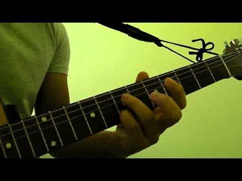 How to Play  D7 Guitar Bar Chord